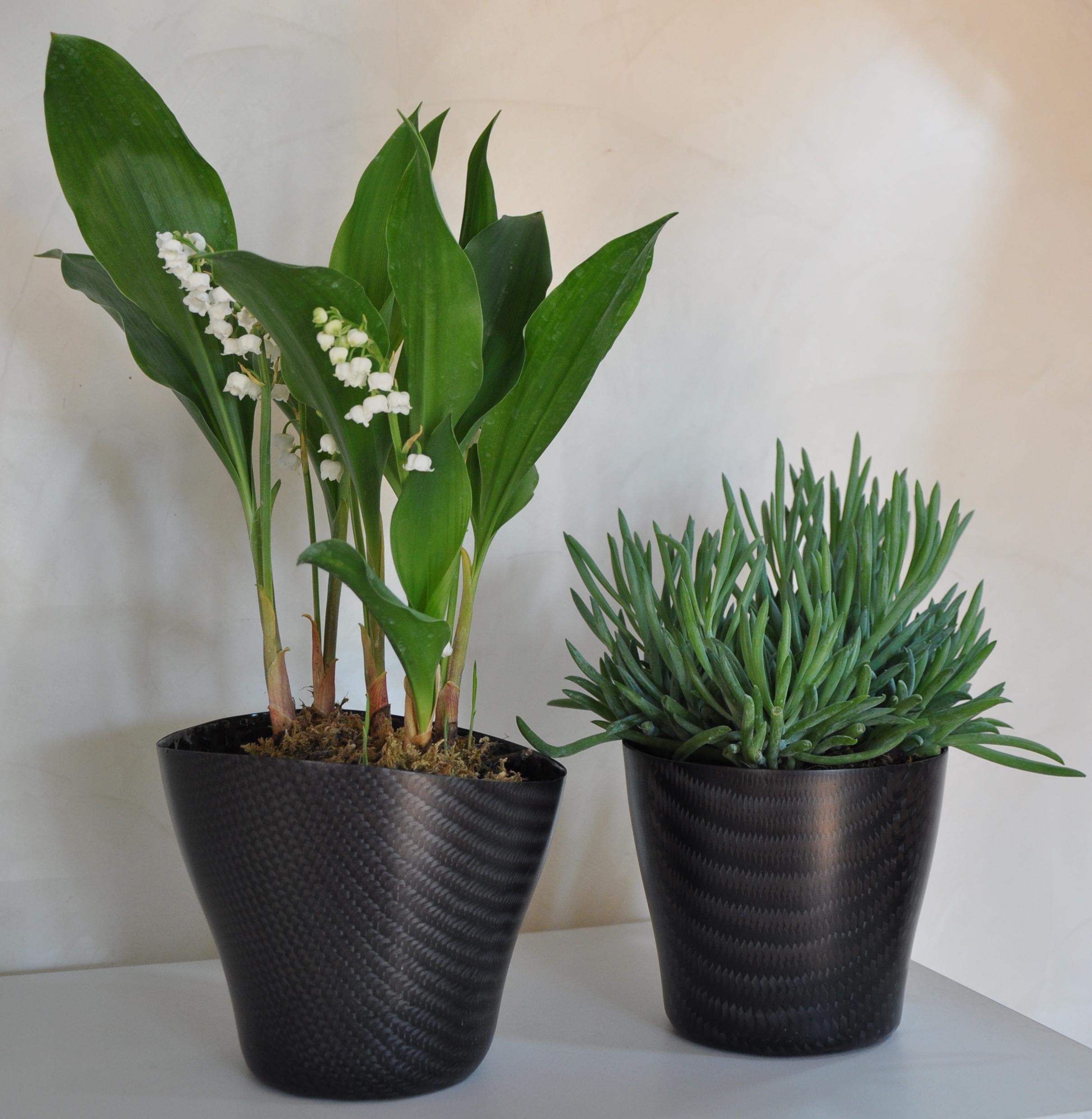 Flower-pot-carbonfiber